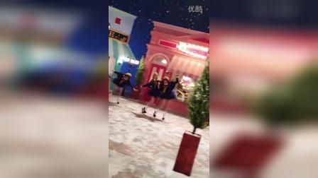 151204 everyshot更新 少女时代TTS #DearSanta# MV拍摄花絮