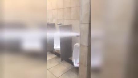 厕所漏水的最高境界居然是这样