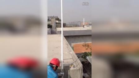 中粮大跃城无线电系统信号覆盖今日完工