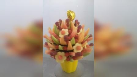 美味果创意水果花束