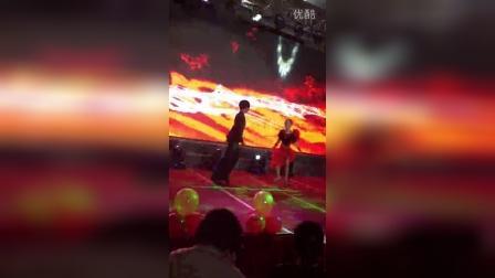 爱尚舞艺术学校,马宇佳,马伊蕊,尹宇童,刘佳在金桂山庄表演的舞蹈