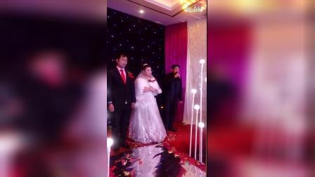 束开进先生和黄晓明小姐的婚礼视频