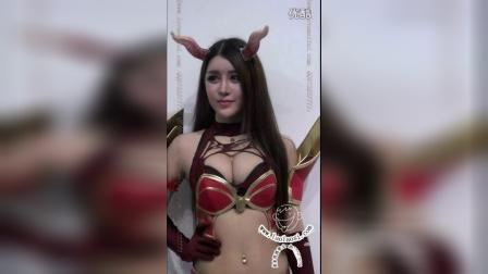 2014上海ChinaJoy性感美女模特42