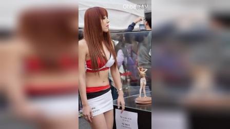 韩国车模爆乳登场,中间走光了!이태원 모터쇼 레이싱모델 김아빈 직캠 RaceQueen Kim Abin Ohbest TV