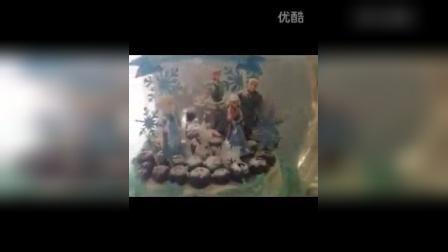 冰雪奇缘&水晶球旋转音乐盒&双层生日蛋糕.mp4