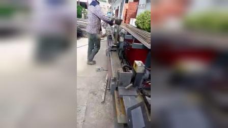 顺龙五机头数控弯箍板筋一体机 1米3*1米3大箍 客户效果