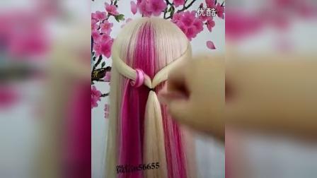 怎么扎好看又漂亮的头发编小辫发型怎么盘发
