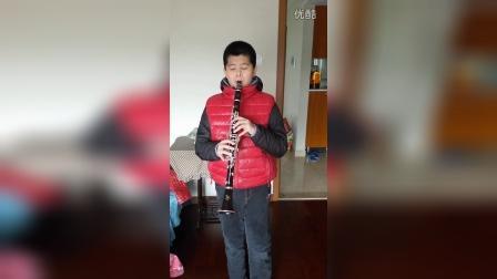 黑管演奏【鸿雁】。