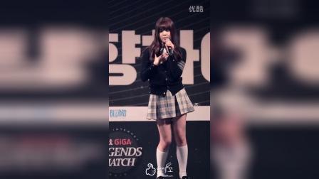 [171HD.NET]160220 GFRIEND - Rough 엄지 首尔江中体育馆KT GIGA Legend Match庆祝演出 饭拍视频