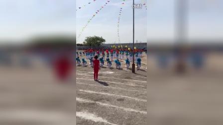 辽宁省大石桥市水源小学团体操七彩校园青春飞扬