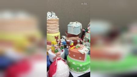 上海飞航美食学翻糖蛋糕培训