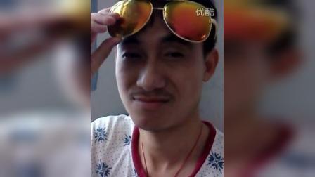 【自拍】戴着太阳镜的逗比笑哥