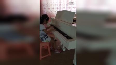 郧西县艺术培训中心,金老师,北风吹钢琴独奏