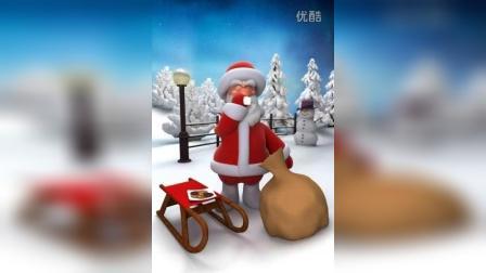 圣诞爷爷吃饭记