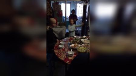 杨鹰泽小朋友的新年祝福语!