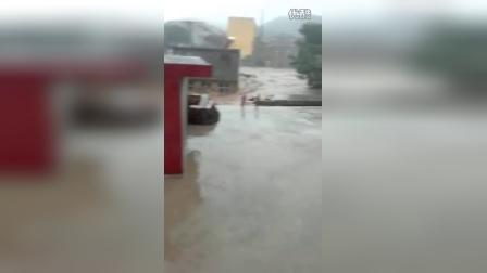 河北马家庄乡洪水恐怖