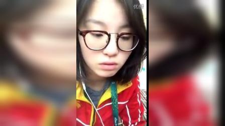 """""""洪荒少女""""傅园慧 直播首秀"""