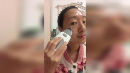 spa机小白胶做脸