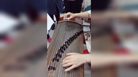 单珊老师古筝教学 秋芙蓉