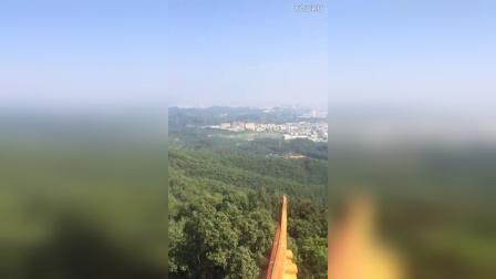 东莞大屏障山顶远眺