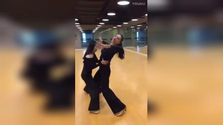 摩登舞-女士基本功-引导&跟随-345