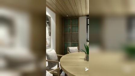 中式木艺之家,郑州室内装修设计。