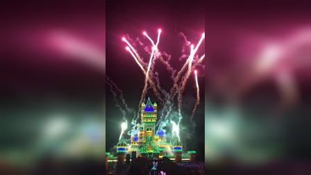 嘉峪关方特欢乐世界春节灯会展1