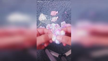 泡芙花钩法视频3