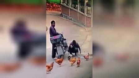 偷鸡贼手法极快