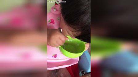一个米粒儿都不放过啊 一岁九个月