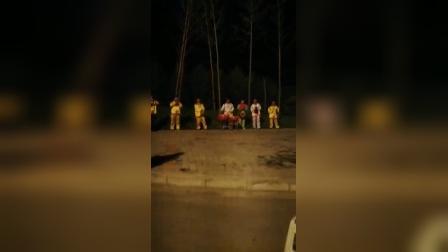 刘世汉花鼓队在西安演唱中