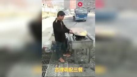 真正的大厨。。。