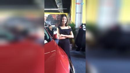 车展上最甜美靓丽的车模_2018投资吉香缘制香机优势大吗?加盟费多少钱?