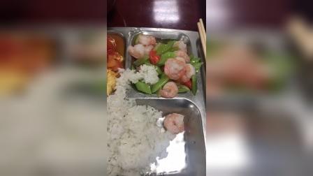 3月8号午餐清炒虾仁番茄炒蛋一两米饭。曾减90斤,每天发减肥视频,4天减了4斤。关注哦,方法有效你就用。