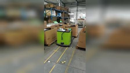 哈特AGV在奇瑞汽车厂应用