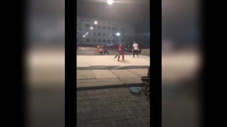2018夏季校运会散打比赛45公斤级冠亚冲刺赛《张俊豪》
