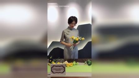 马克花艺-心形花束手捧花视频教程