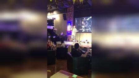 蚌埠翠贝卡电影主题餐厅   来了BRO男团队长陈皓