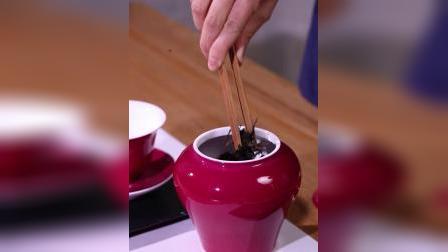 景德镇陶瓷公道杯茶具茶杯胭脂红公道杯薄胎茶道大红袍手工茶杯
