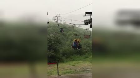 单身 下雨 停电 下雨没带雨伞 坐一次缆车就体会了什么叫绝望