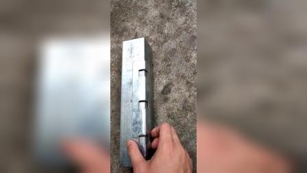 型钢管冲边孔效果