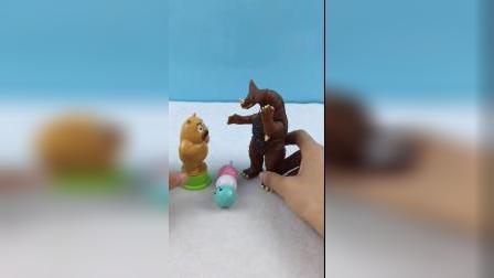 少儿益智玩具:怪兽吃太多糖果了 牙都被拔掉
