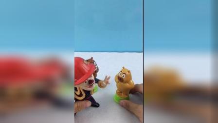 少儿益智玩具:熊二想做长寿面 但是没厨房