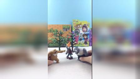 少儿益智玩具:熊大说僵尸太丑了