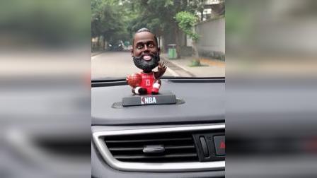 NBA库裏哈登詹姆斯科比公仔篮球礼品汽车载摆件车内饰品模型Figure