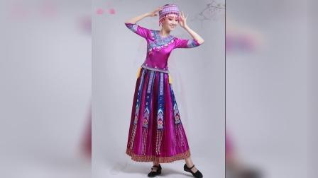 君晓天云火把节苗族服装少数民族舞蹈服饰土演出服彝族衣服女凉山全套