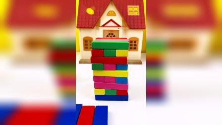 炫酷积木彩条玩具