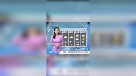1017天气预报 东北西北气温将回升,周末天气晴好。 #天气预报