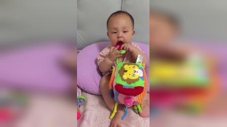 第7月龄 布立方玩具