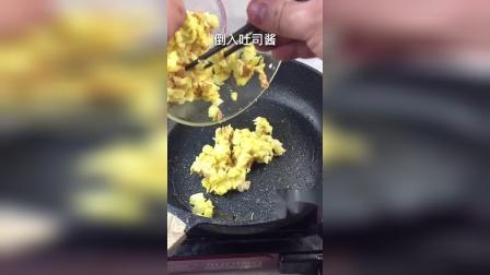 在家用平底锅也可以做披萨,做法非常简单易学